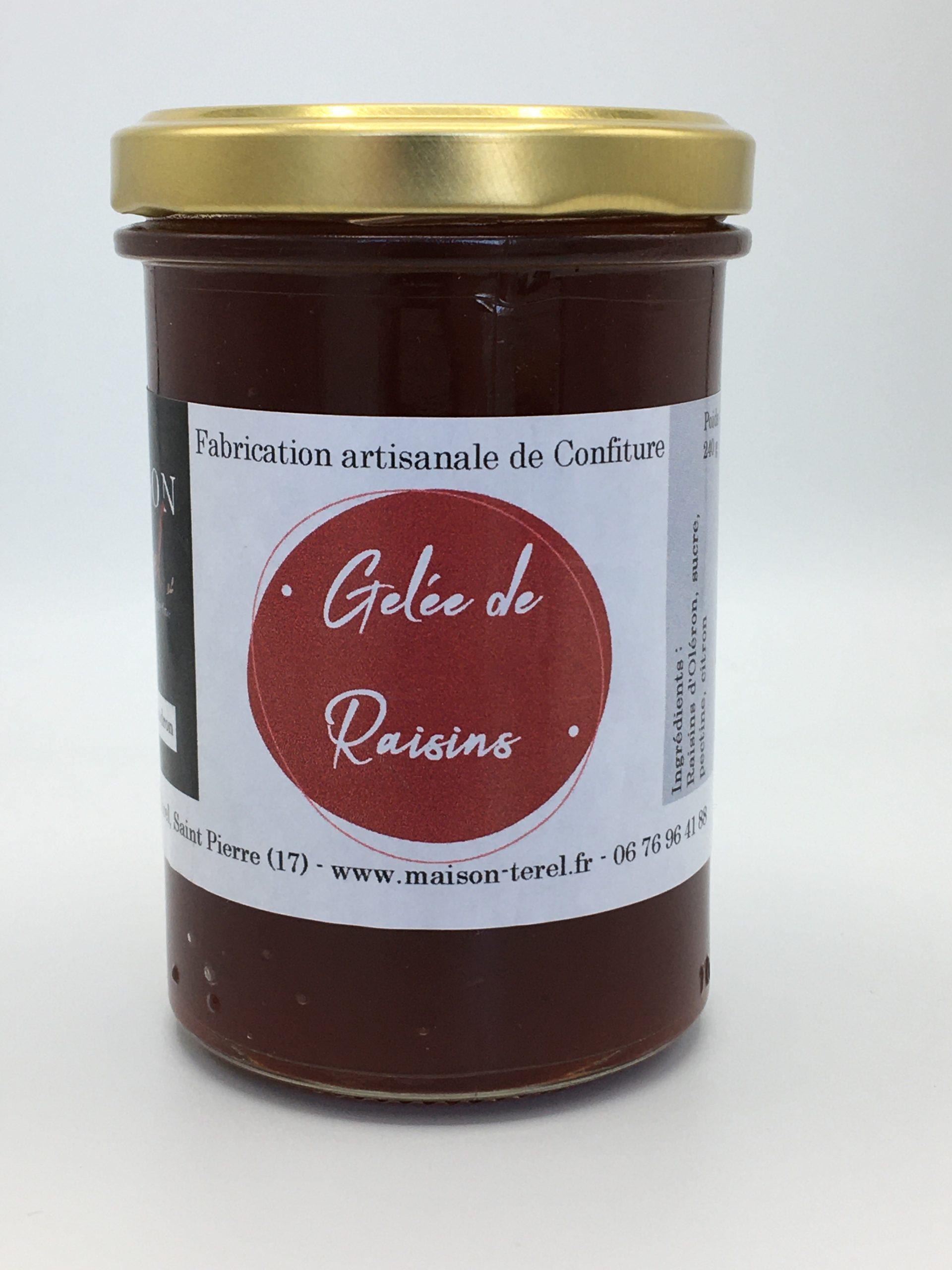 Gelée de raisin par Maison Térél