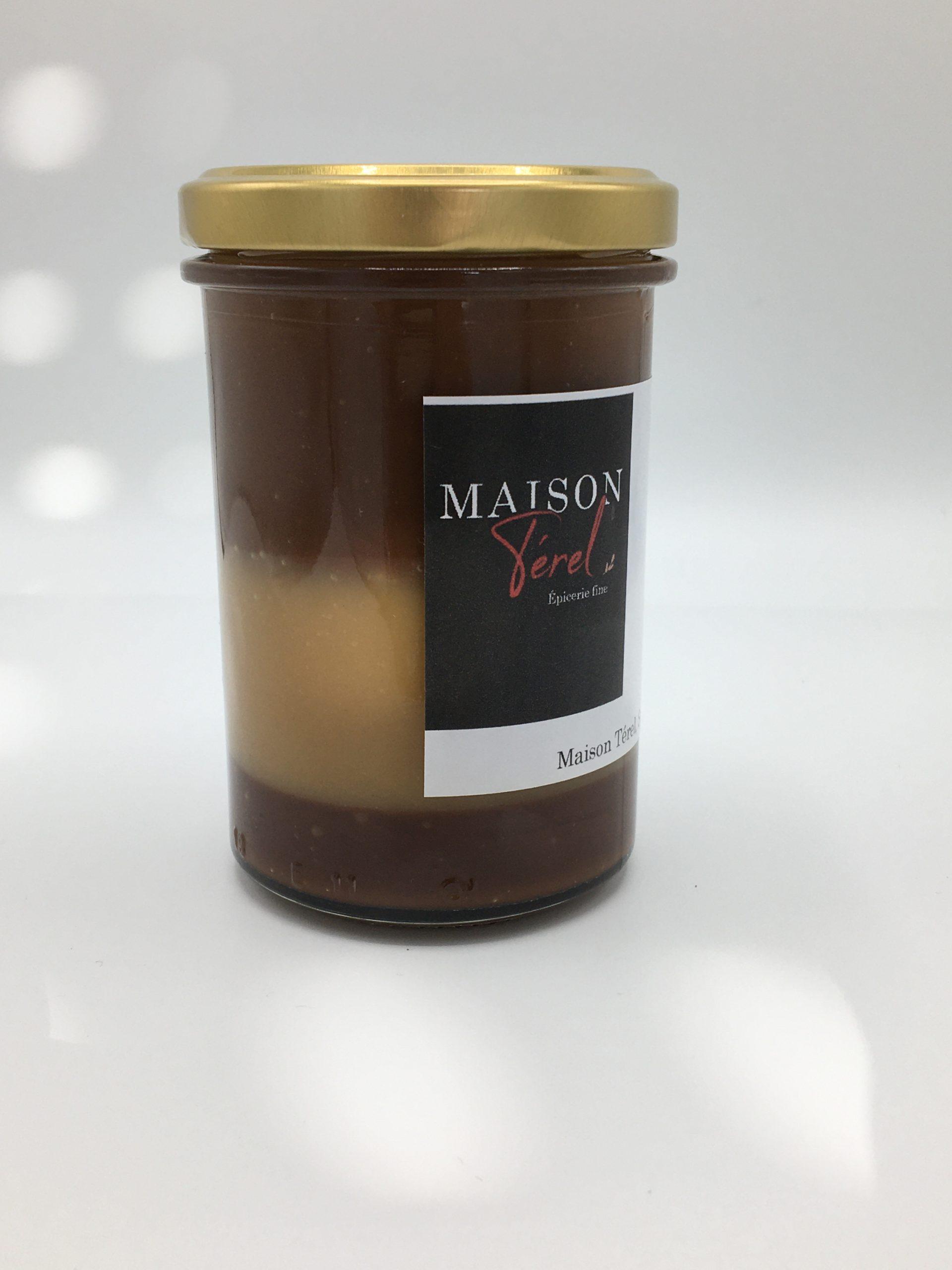 confiture 3 chocolats maison terel oléron
