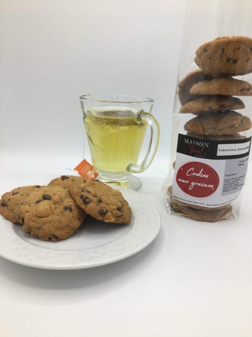 cookie aux graines oléron