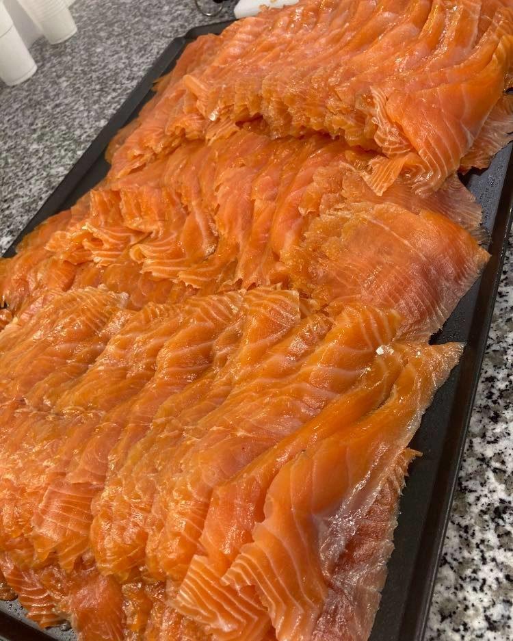 Poisson saumon local ile d'oléron
